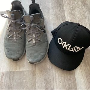 Oakley Black Snapback